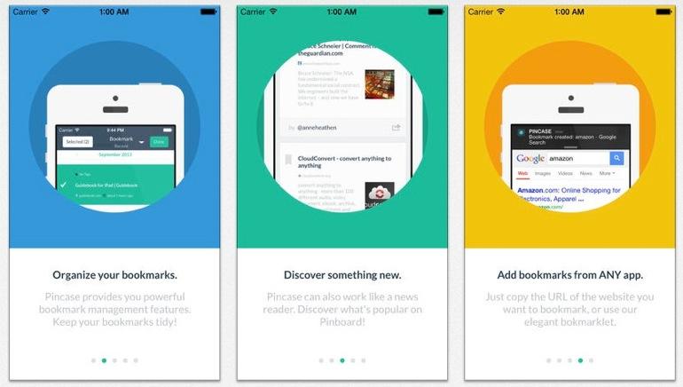 Aplicaciones iOS para descubrir contenidos en Pinboard