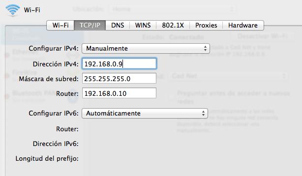 Solucionando problemas de conexión wifi en el Mac